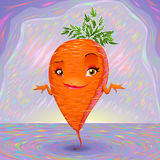 Hello my name is carrot Stock Photography