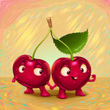 Hello my name is cherry Stock Images