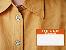 Free Hello My Name Is Stock Images - 796564