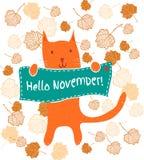 November Clip Art Stock Illustration - Image: 44872829