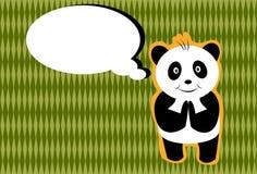 Hello Panda Royalty Free Stock Photos