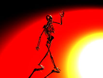 Hello skeleton Royalty Free Stock Photography