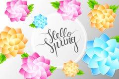 Hello spring 1 Stock Image
