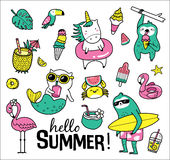Hello Summer Royalty Free Stock Image