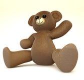 Hello Teddy Royalty Free Stock Image