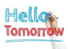 Hello Tomorrow Royalty Free Stock Images