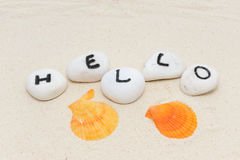 Hello word Stock Images