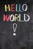 Hello World Royalty Free Stock Image
