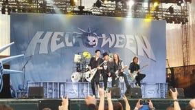 Helloween στη σκηνή Στοκ Φωτογραφίες