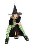 helloween ведьма Стоковое Фото