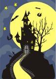 helloween ноча Стоковая Фотография