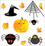 Helloween collection 1. Vector illustration Stock Images