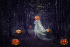 Helloween ghost Royalty Free Stock Photography