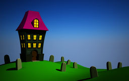 Helloween house Stock Photography