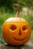 helloween lyktapumpa Arkivfoton