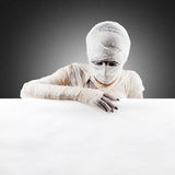 Halloween mummy. space for text. Stock Photos