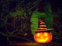helloween pumpa Arkivfoton