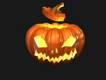 Helloween pumpkin Stock Photos