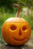 Helloween pumpkin lantern Stock Photos