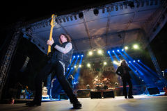 Helloween on Rock pod Kamenom fest in Snina, Slovakia Royalty Free Stock Photo