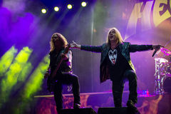 Helloween on Rock pod Kamenom fest in Snina, Slovakia Royalty Free Stock Photos
