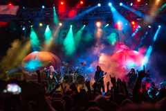 Helloween on Rock pod Kamenom in Snina, Slovakia Stock Images