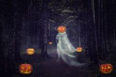 Helloween spöke Royaltyfri Fotografi