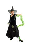 Helloween witch royalty free stock images