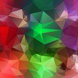 Hellroter grüner violetter abstrakter Hintergrund Lizenzfreies Stockbild
