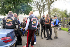 Hells Angels Stock Photography