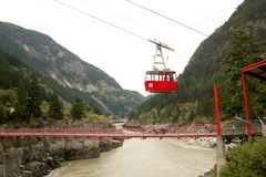 Hells Gate Cablecar Royalty Free Stock Image