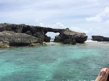 Hells gate island Royalty Free Stock Photography