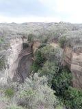 Hells gate Kenya royalty free stock image