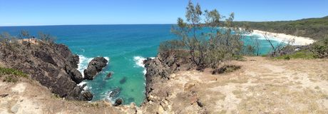 Hells Gates Noosa National Park Stock Image