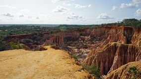 Hells Kitchen Canyon of Marafa stock photo