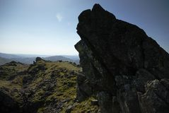 Helm Crag Royalty Free Stock Photography