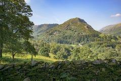 Helm Crag, Grasmere, England Stock Photo