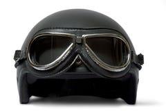 Helm en beschermende brillen Stock Foto