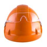 Helm en beschermende brillen Stock Afbeelding