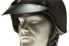 Helm op een model royalty-vrije stock foto's