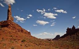 Helm Utahs im Tal der Götter Stockfotografie
