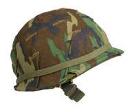 Helm van de Camouflage van de V.S. de Bos Royalty-vrije Stock Fotografie