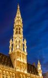 Helm von BrüsselRathaus Lizenzfreie Stockfotos