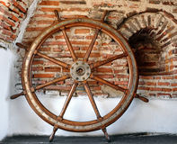 Helm Wheel Royalty Free Stock Photo