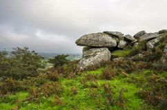 Helman Tor in Cornwall Stock Image