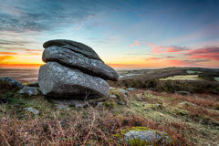 Helman Tor HDR Stock Photo