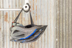 Helmat da bicicleta Imagem de Stock Royalty Free