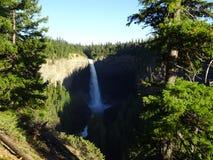 Helmcken fällt in Wells Gray Provincial Park, Clearwater, Kanada Stockfoto
