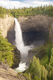 Helmcken Falls vertical closeup Stock Photography