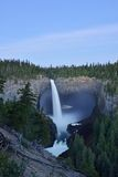 Helmcken Falls in Wells Gray Provincial Park Royalty Free Stock Images